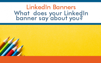 What does your LinkedIn banner say